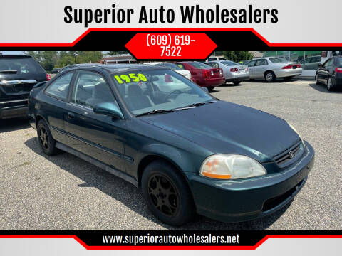 1996 Honda Civic for sale at Superior Auto Wholesalers in Burlington NJ