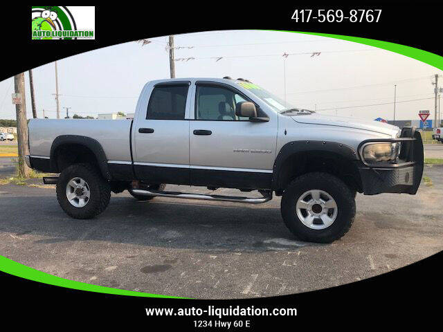 2003 Dodge Ram Pickup 2500 for sale at Auto Liquidation in Springfield MO