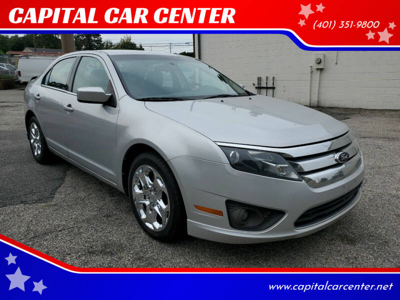 2010 Ford Fusion for sale at CAPITAL CAR CENTER in Providence RI