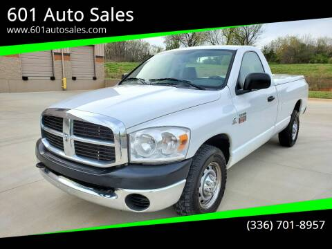 2007 Dodge Ram Pickup 2500 for sale at 601 Auto Sales in Mocksville NC