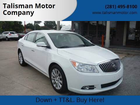 2013 Buick LaCrosse for sale at Don Jacobson Automobiles in Houston TX