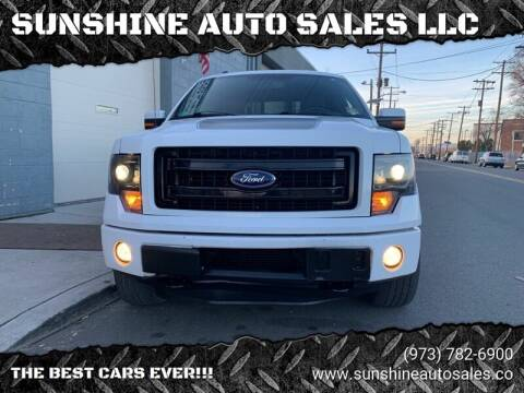 2013 Ford F-150 for sale at SUNSHINE AUTO SALES LLC in Paterson NJ