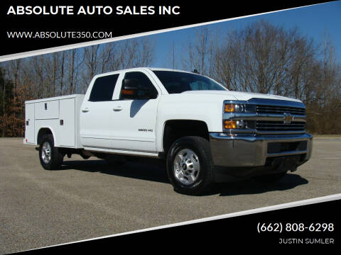 2018 Chevrolet Silverado 2500HD for sale at ABSOLUTE AUTO SALES INC in Corinth MS