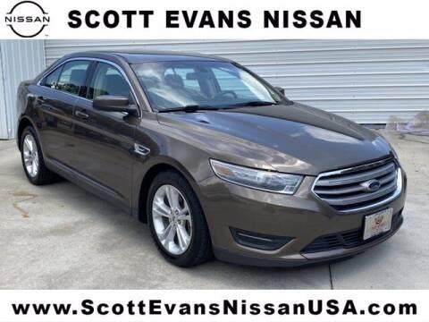 2016 Ford Taurus for sale at Scott Evans Nissan in Carrollton GA