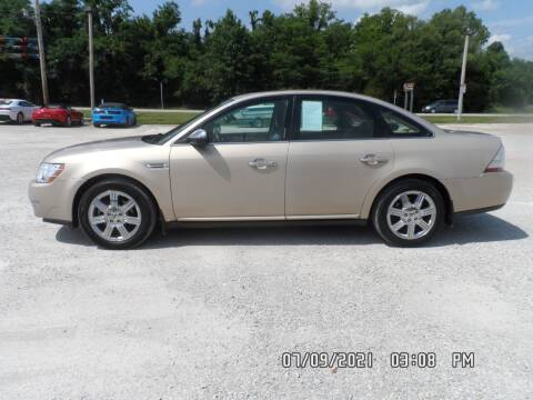 2008 Ford Taurus for sale at Town and Country Motors in Warsaw MO