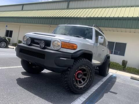 2008 Toyota FJ Cruiser for sale at Fisher Motor Group LLC in Bradenton FL