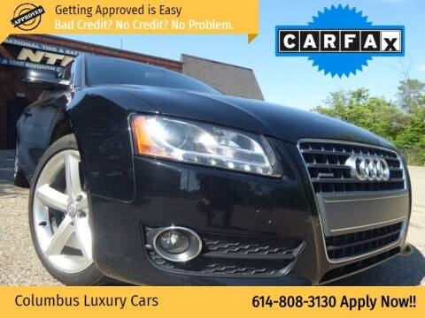 2010 Audi A5 for sale at Columbus Luxury Cars in Columbus OH