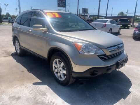 2007 Honda CR-V for sale at HALEMAN AUTO SALES in San Antonio TX