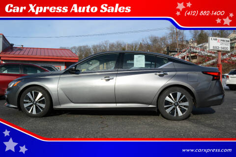 2019 Nissan Altima for sale at Car Xpress Auto Sales in Pittsburgh PA