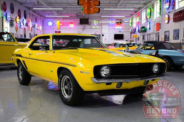1969 Chevrolet Camaro for sale at Classics and Beyond Auto Gallery in Wayne MI