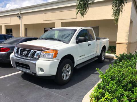 2014 Nissan Titan for sale at Bcar Inc. in Fort Myers FL