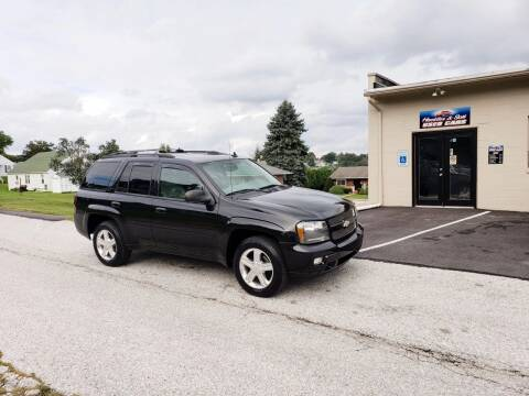 2008 Chevrolet TrailBlazer for sale at Hackler & Son Used Cars in Red Lion PA