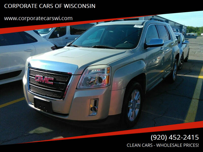 2013 GMC Terrain for sale at CORPORATE CARS OF WISCONSIN in Sheboygan WI