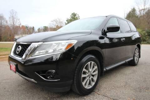 2014 Nissan Pathfinder for sale at Oak City Motors in Garner NC
