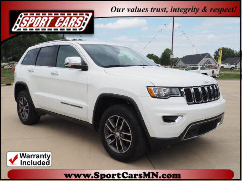 2017 Jeep Grand Cherokee for sale at SPORT CARS in Norwood MN