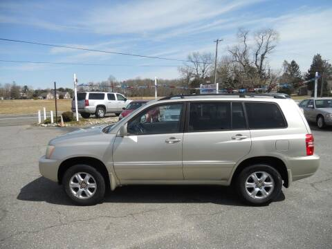 2001 Toyota Highlander for sale at All Cars and Trucks in Buena NJ