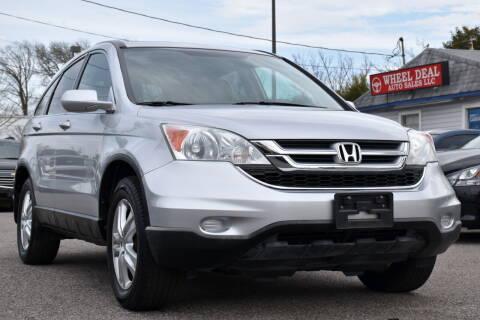 2011 Honda CR-V for sale at Wheel Deal Auto Sales LLC in Norfolk VA