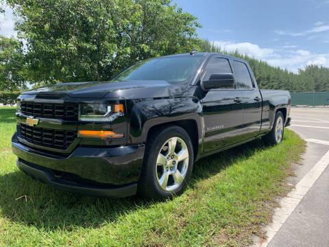2018 Chevrolet Silverado 1500 for sale at Nation Autos Miami in Hialeah FL