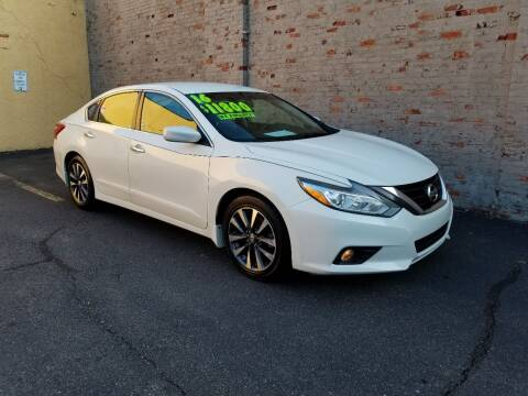 2016 Nissan Altima for sale at GTR Auto Solutions in Newark NJ
