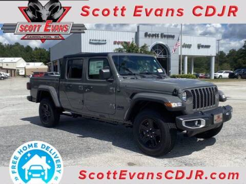 2021 Jeep Gladiator for sale at SCOTT EVANS CHRYSLER DODGE in Carrollton GA