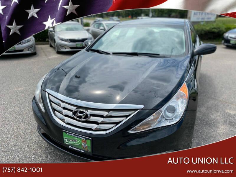 2012 Hyundai Sonata for sale at Auto Union LLC in Virginia Beach VA