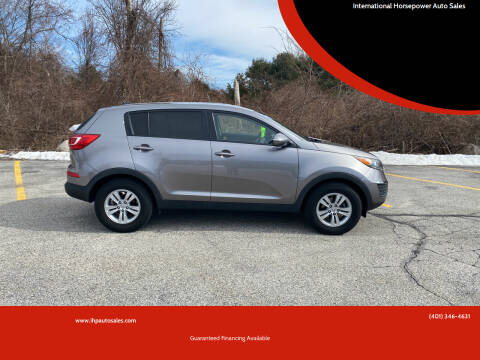 2011 Kia Sportage for sale at International Horsepower Auto Sales in Warwick RI