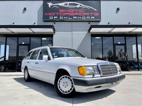 1990 Mercedes-Benz 300-Class for sale at Exotic Motorsports of Oklahoma in Edmond OK