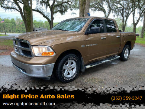 2012 RAM Ram Pickup 1500 for sale at Right Price Auto Sales-Gainesville in Gainesville FL