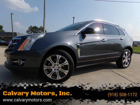 2012 Cadillac SRX for sale at Calvary Motors, Inc. in Bixby OK