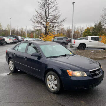 2008 Hyundai Sonata for sale at American & Import Automotive in Cheektowaga NY