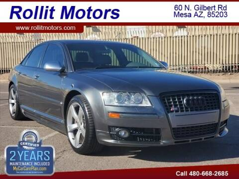 2007 Audi S8 for sale at Rollit Motors in Mesa AZ