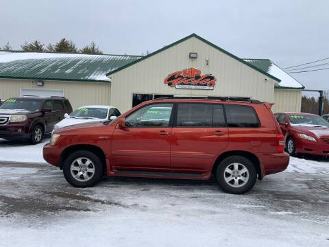 2002 Toyota Highlander for sale at HP AUTO SALES in Berwick ME