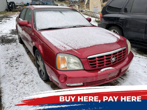 2002 Cadillac DeVille for sale at Al's Auto Inc. in Bruce Crossing MI