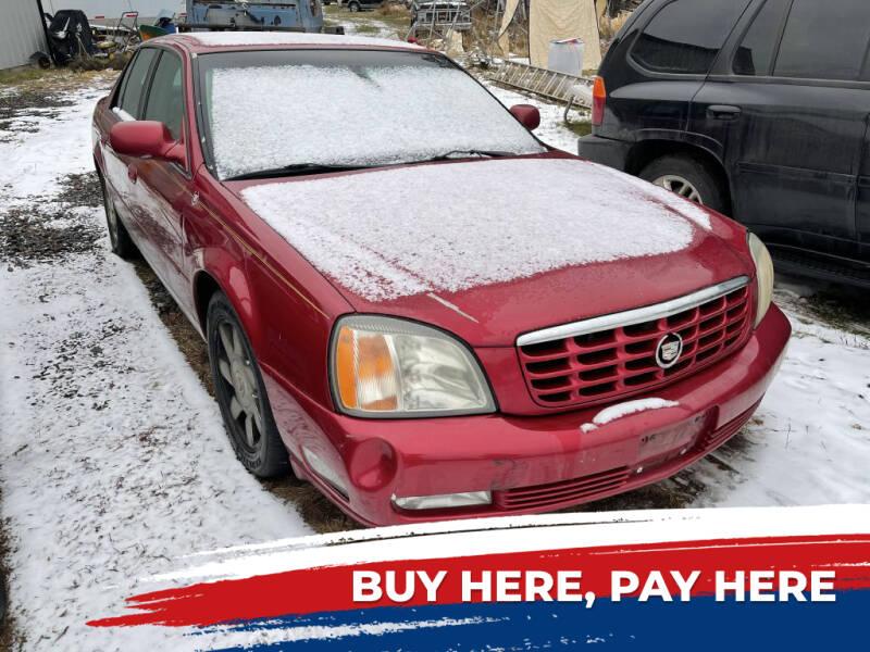 2002 Cadillac DeVille for sale at Al's Auto Inc. in Bruce Crossing MI