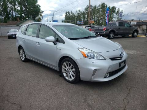 2012 Toyota Prius v for sale at Universal Auto Sales in Salem OR