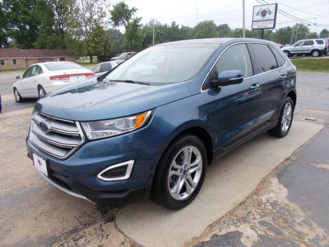 2018 Ford Edge for sale at High Country Motors in Mountain Home AR