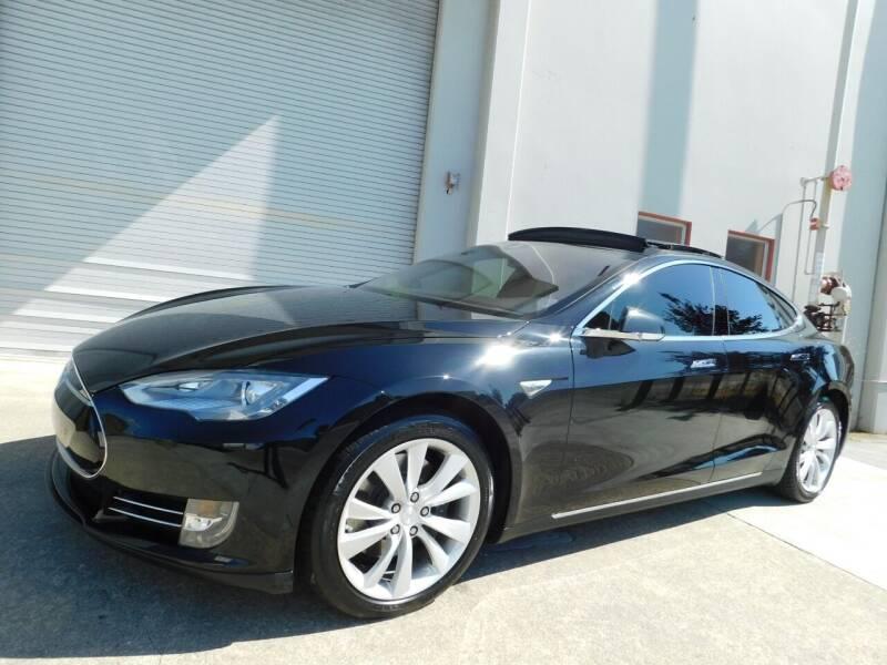 2015 Tesla Model S for sale at Conti Auto Sales Inc in Burlingame CA
