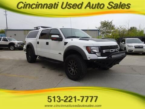2011 Ford F-150 for sale at Cincinnati Used Auto Sales in Cincinnati OH
