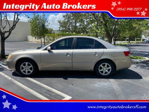 2006 Hyundai Sonata for sale at Integrity Auto Brokers in Pompano Beach FL