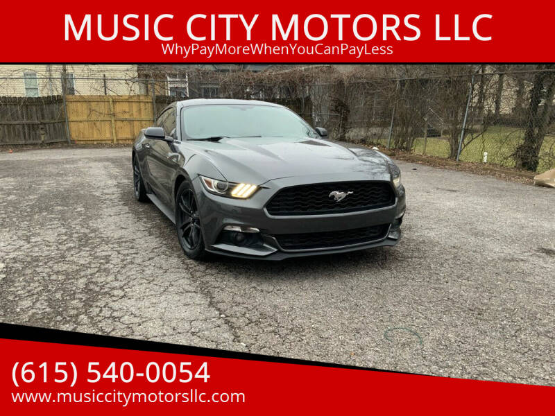 2016 Ford Mustang for sale at MUSIC CITY MOTORS LLC in Nashville TN