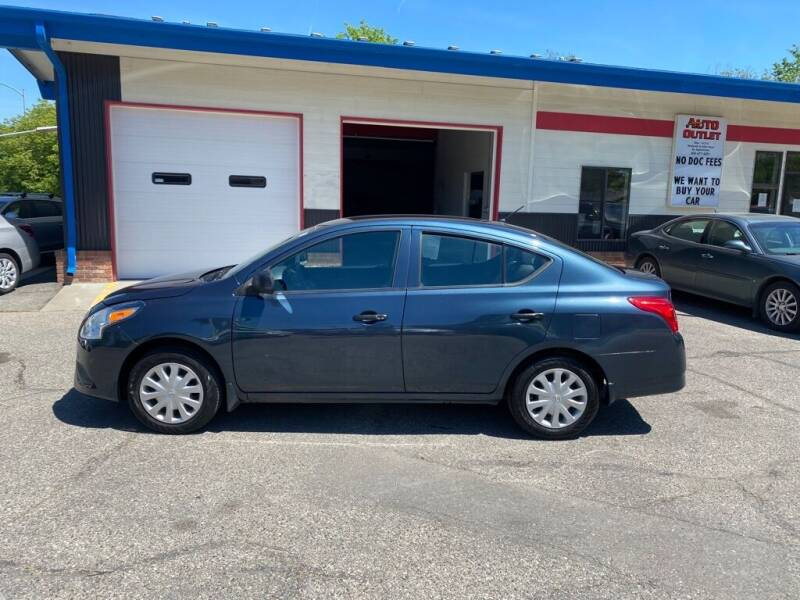 2015 Nissan Versa for sale at Auto Outlet in Billings MT