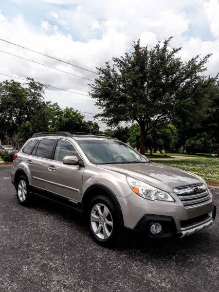 2014 Subaru Outback for sale at Rons Auto Sales in Stockdale TX