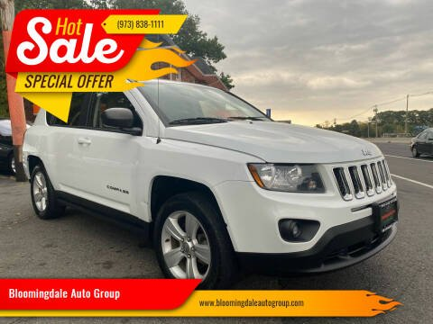 2017 Jeep Compass for sale at Bloomingdale Auto Group - The Car House in Butler NJ
