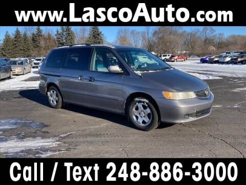 2000 Honda Odyssey for sale at Lasco of Waterford in Waterford MI