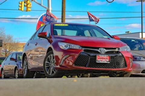 2016 Toyota Camry for sale at Dina Auto Sales in Paterson NJ