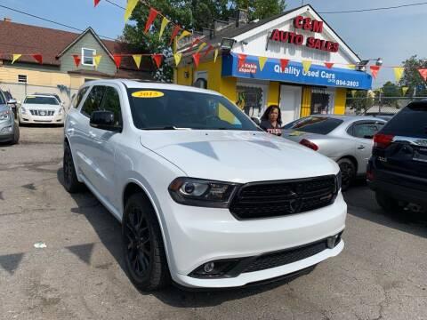 2015 Dodge Durango for sale at C & M Auto Sales in Detroit MI