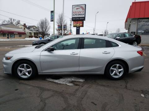 2017 Chevrolet Malibu for sale at Select Auto Group in Wyoming MI
