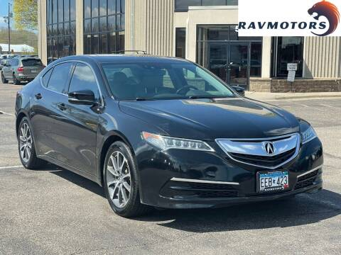2015 Acura TLX for sale at RAVMOTORS 2 in Crystal MN