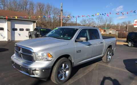 2017 RAM Ram Pickup 1500 for sale at Baker Auto Sales in Northumberland PA