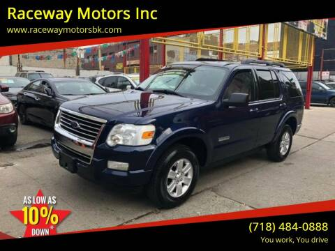 2008 Ford Explorer for sale at Raceway Motors Inc in Brooklyn NY